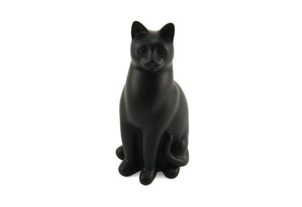 C312 Black Elite Cat | Cat Urn