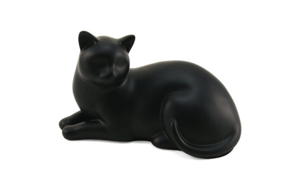 C316 Black Cozy Cat | Cat Urns