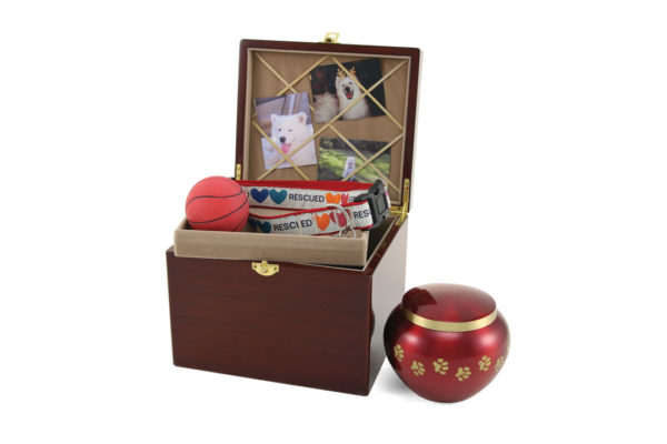 Paw Print Memory Chests